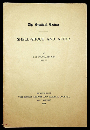 Image for Shell-Shock and After - The Shattuck Lecture