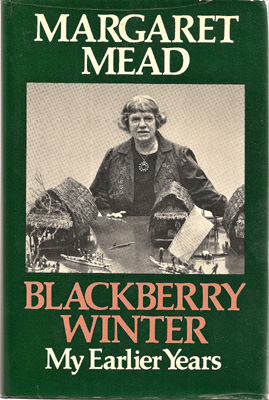 Image for Blackberry Winter. My Earlier Years