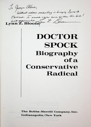 Image for Doctor Spock. Biography of a Conservative Radical