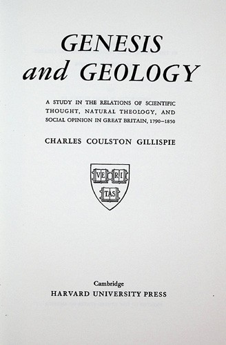 Image for Genesis and Geology: A Study of Scientific Thought, Natural Theology, and Social Opinion in Great Britain, 1790-1850