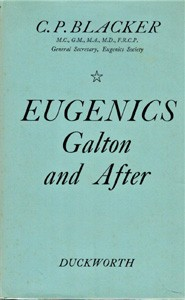 Image for Eugenics. Galton and After