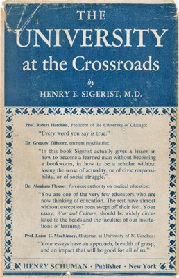 Image for The University at the Crossroads. Addresses and Essays