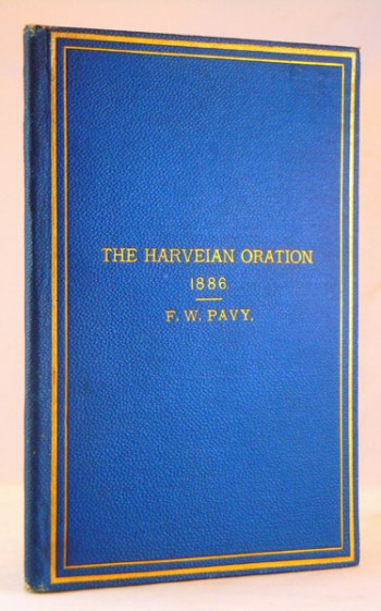 Image for The Harveian Oration delivered at the Royal College of physicians, October 18th, 1886
