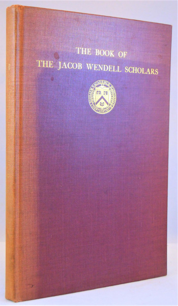 Image for The Book of the Jacob Wendell Scholars