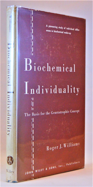 Image for Biochemical Individuality. The Basis for the Genetotrophic Concept