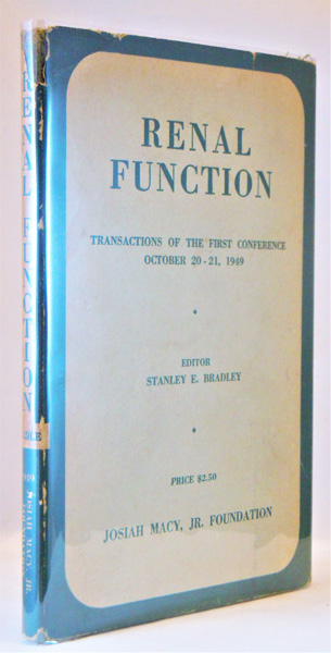 Image for Renal Function. Transactions of the First Conference, October 20-21, 1949, New York, N.Y.
