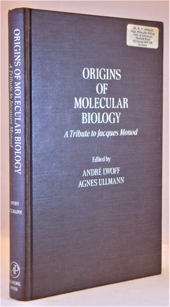 Image for Origins of Molecular Biology. A Tribute to Jacques Monod